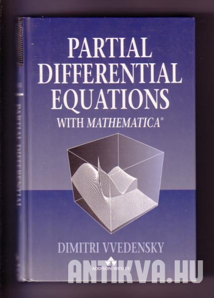 Partial Differential Equations witk Mathematica