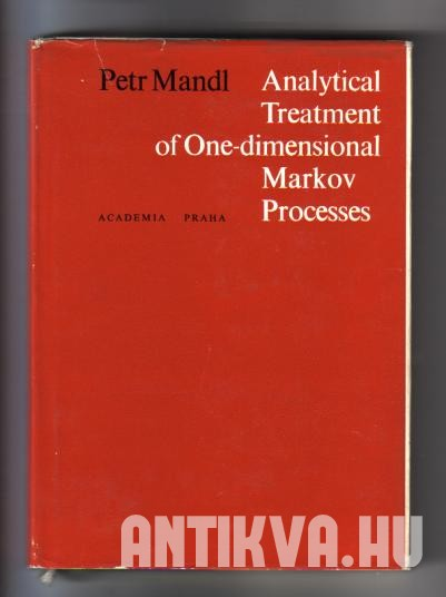 Analytical Treatment of One-dimensional Markov processe