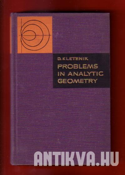 Problems in Analytic Geometry