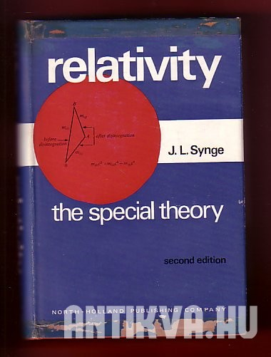 Relativity: The special theory