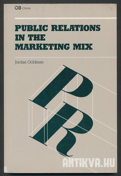 Public Relations in the Marketing Mix