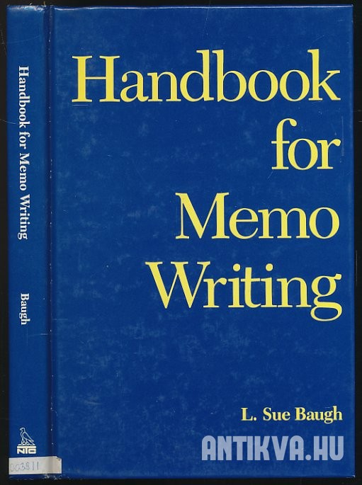 Handbook for Memo Writing