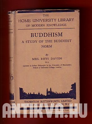 Buddhism. A Story of the Buddhist Norm