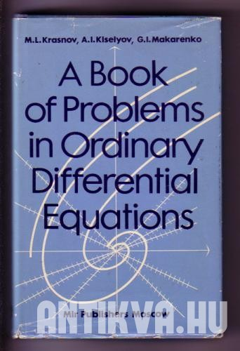 A book of problems in ordinary differential equations