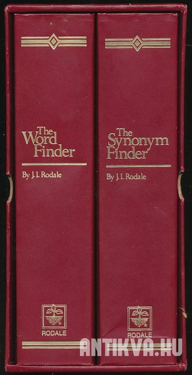 The Synonym Finder; The Word Finder