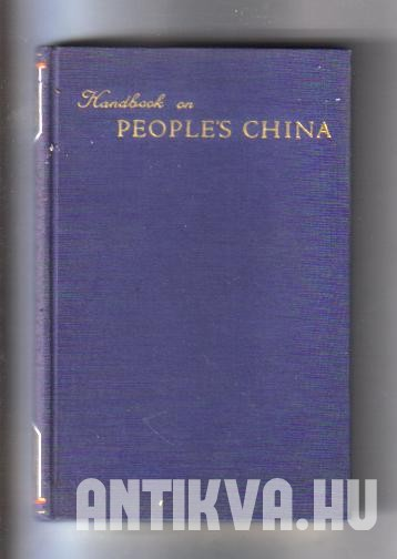 Handbook on People's China