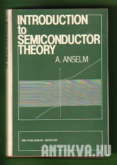 Introduction to Semiconductor Theory