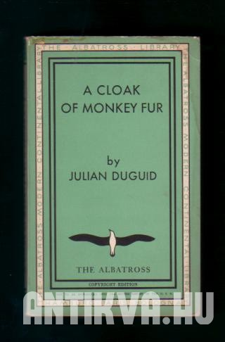 A Cloak of Monkey Fur