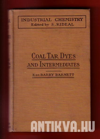 Coal Tar Dyes and Intermediates