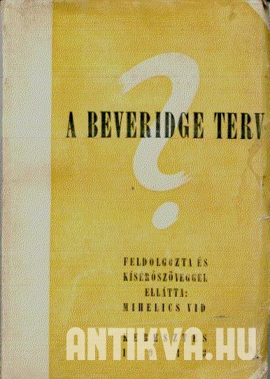 A Beveridge-terv