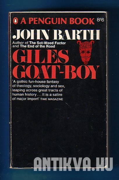 Giles Goat-Boy. Or the Revised New Syllabus