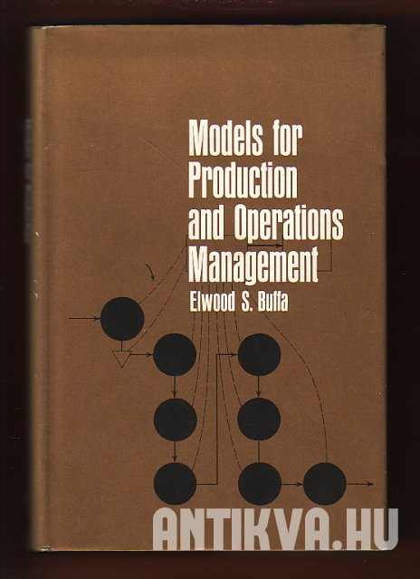 Models for Production and Operations Management