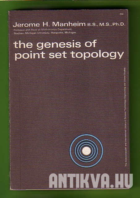 The Genesis of Point Set Topology