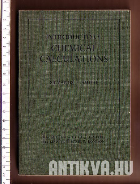Introductory Chemical Calculations
