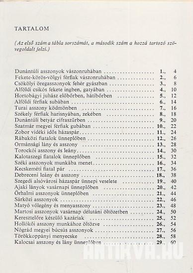 cfe2fc2f65 Flórián Mária: Magyar népviseletek