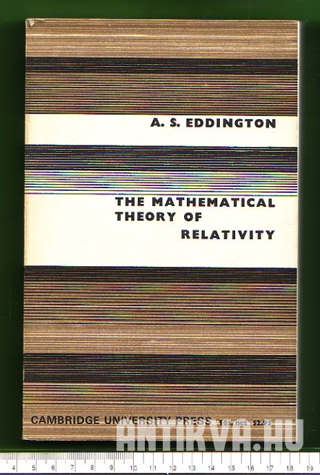 The Mathematical Theory of Relativty