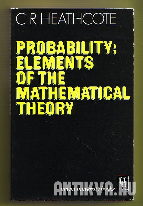 Probability. Elements of the Mathematical Theory
