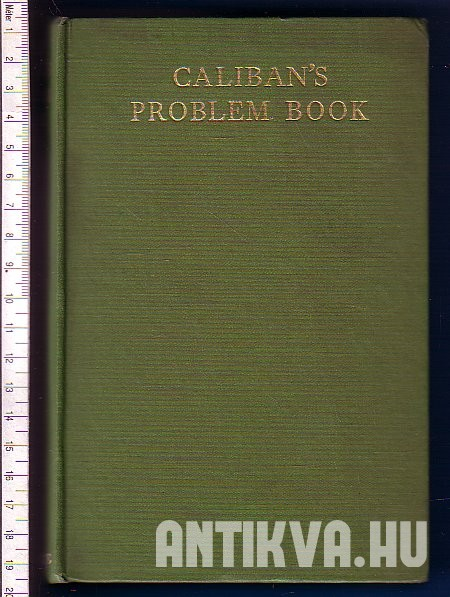 Caliban's Problem Book.