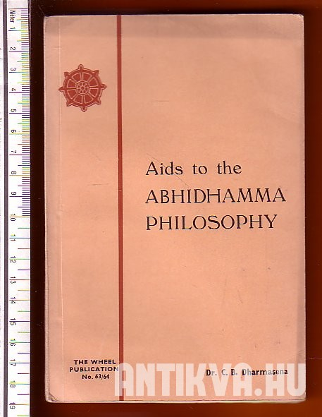 Aids to the Abhidhamma Philosophy