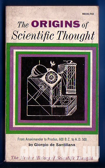 The Origins of Scientific Thought