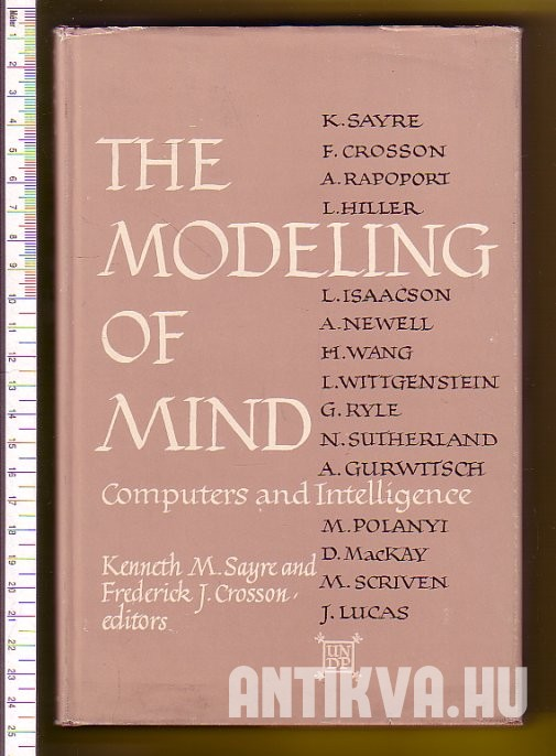 The Modeling of Mind. Computer and Intelligence