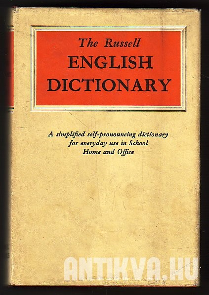 The Russell English Dictionary