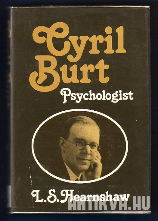 Cyril Burt Psychologist