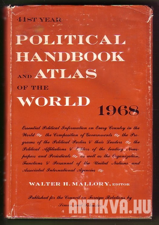Political Handbook and Atlas of the World