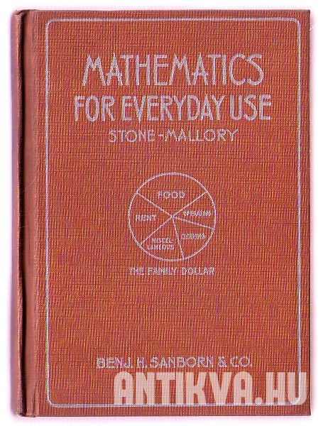 Mathematics for Everyday Use