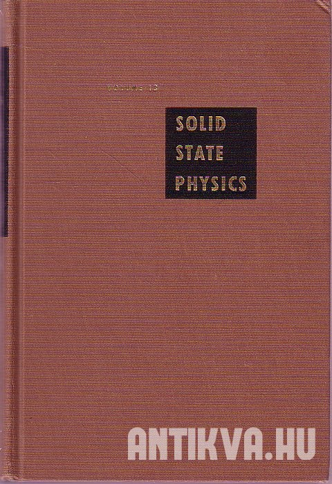 Solid State Physics. Advances in Research and Application